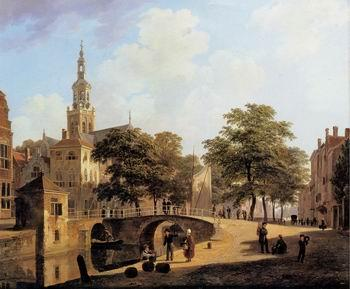unknow artist European city landscape, street landsacpe, construction, frontstore, building and architecture. 307