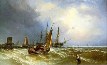 unknow artist Seascape, boats, ships and warships. 143