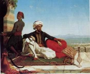 unknow artist Arab or Arabic people and life. Orientalism oil paintings 106