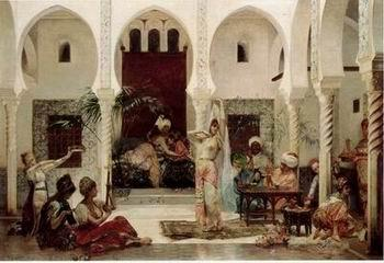 unknow artist Arab or Arabic people and life. Orientalism oil paintings 143