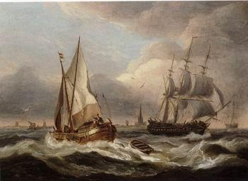 unknow artist Seascape, boats, ships and warships. 66