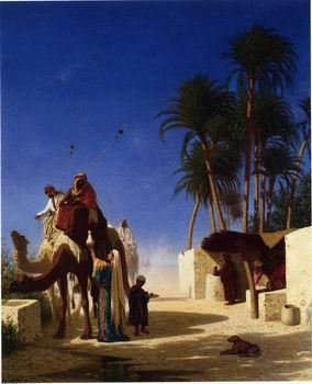 unknow artist Arab or Arabic people and life. Orientalism oil paintings  411