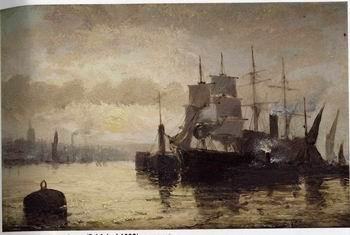 unknow artist Seascape, boats, ships and warships. 122