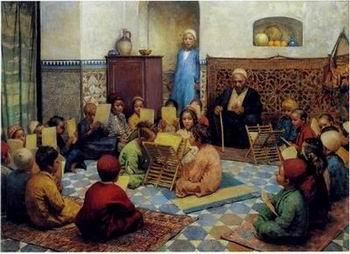 unknow artist Arab or Arabic people and life. Orientalism oil paintings 174