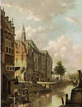 unknow artist European city landscape, street landsacpe, construction, frontstore, building and architecture. 123
