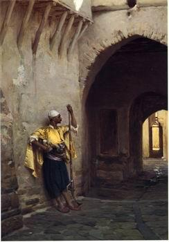 unknow artist Arab or Arabic people and life. Orientalism oil paintings 436