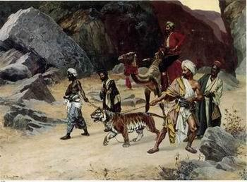 unknow artist Arab or Arabic people and life. Orientalism oil paintings 122
