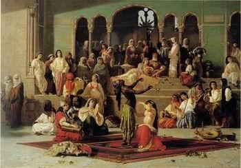 unknow artist Arab or Arabic people and life. Orientalism oil paintings 62