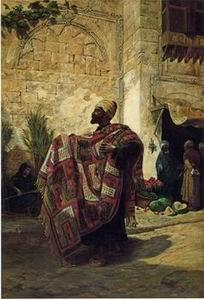 unknow artist Arab or Arabic people and life. Orientalism oil paintings 141
