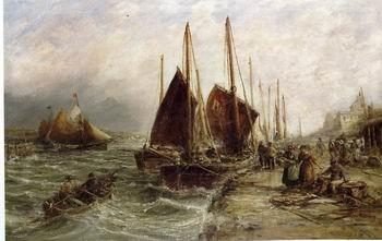unknow artist Seascape, boats, ships and warships. 08