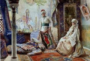 unknow artist Arab or Arabic people and life. Orientalism oil paintings 16