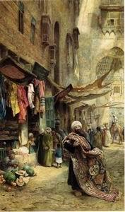 unknow artist Arab or Arabic people and life. Orientalism oil paintings 129