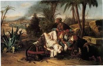 unknow artist Arab or Arabic people and life. Orientalism oil paintings 95