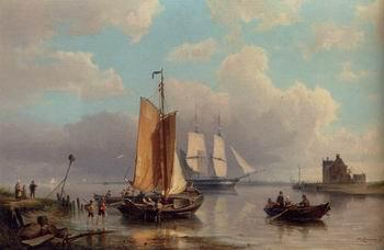 unknow artist Seascape, boats, ships and warships. 126