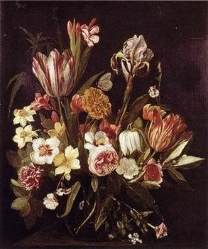 unknow artist Floral, beautiful classical still life of flowers 017