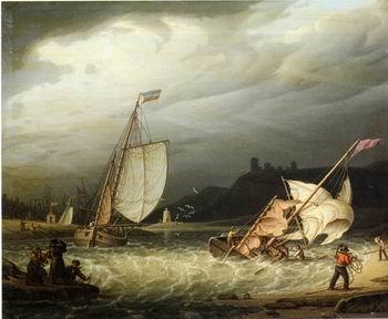 unknow artist Seascape, boats, ships and warships.64