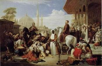 unknow artist Arab or Arabic people and life. Orientalism oil paintings 74