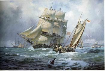 unknow artist Seascape, boats, ships and warships.101