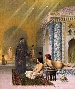unknow artist Arab or Arabic people and life. Orientalism oil paintings  327