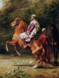 unknow artist Arab or Arabic people and life. Orientalism oil paintings 202