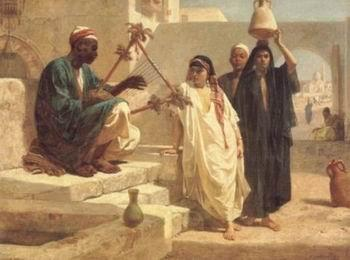 unknow artist Arab or Arabic people and life. Orientalism oil paintings  249