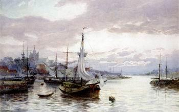 unknow artist Seascape, boats, ships and warships. 17