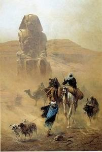 unknow artist Arab or Arabic people and life. Orientalism oil paintings 14
