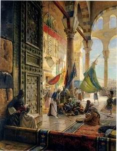 unknow artist Arab or Arabic people and life. Orientalism oil paintings 187