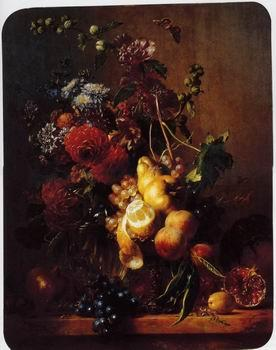unknow artist Floral, beautiful classical still life of flowers.102