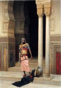 unknow artist Arab or Arabic people and life. Orientalism oil paintings 165