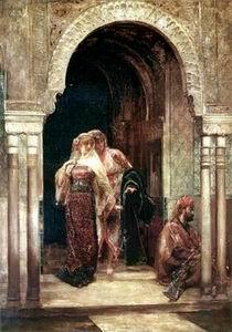 unknow artist Arab or Arabic people and life. Orientalism oil paintings  271