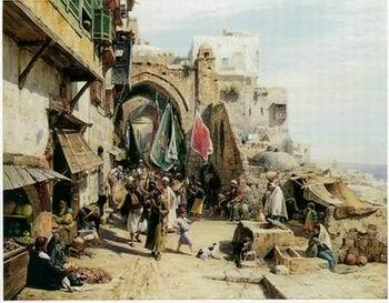 unknow artist Arab or Arabic people and life. Orientalism oil paintings 34