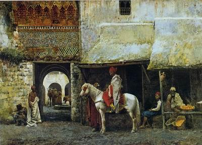 unknow artist Arab or Arabic people and life. Orientalism oil paintings 607 oil painting image