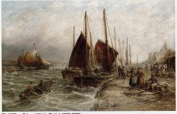 unknow artist Seascape, boats, ships and warships. 57