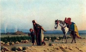 unknow artist Arab or Arabic people and life. Orientalism oil paintings 116