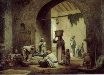 unknow artist Arab or Arabic people and life. Orientalism oil paintings 169