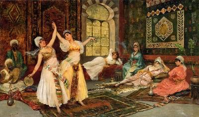 unknow artist Arab or Arabic people and life. Orientalism oil paintings 608