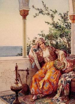 unknow artist Arab or Arabic people and life. Orientalism oil paintings 450