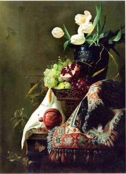 unknow artist Floral, beautiful classical still life of flowers.115