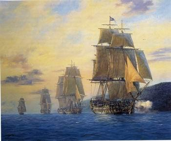 unknow artist Seascape, boats, ships and warships.83