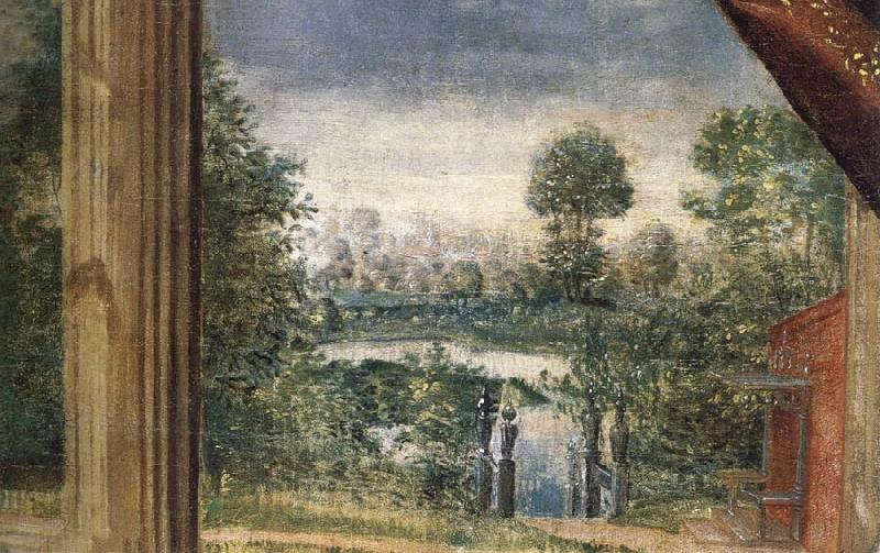 unknow artist Panorama of Part of Prince Henry-s Richmond Palace garden