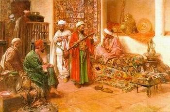 unknow artist Arab or Arabic people and life. Orientalism oil paintings  347