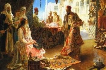 unknow artist Arab or Arabic people and life. Orientalism oil paintings  260