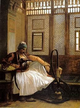 unknow artist Arab or Arabic people and life. Orientalism oil paintings  463