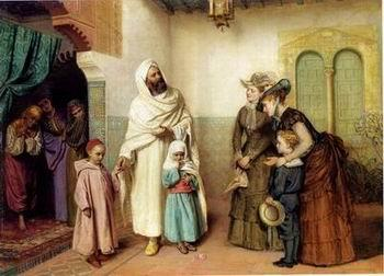unknow artist Arab or Arabic people and life. Orientalism oil paintings 22