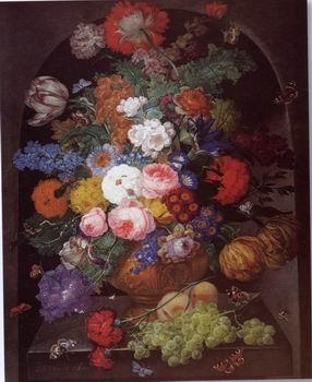 unknow artist Floral, beautiful classical still life of flowers.090