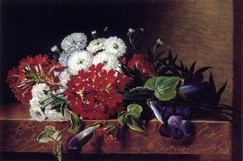 unknow artist Floral, beautiful classical still life of flowers.036