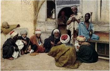 unknow artist Arab or Arabic people and life. Orientalism oil paintings 148