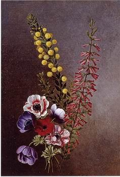 unknow artist Floral, beautiful classical still life of flowers 027