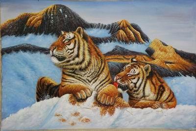 unknow artist Tigers 026